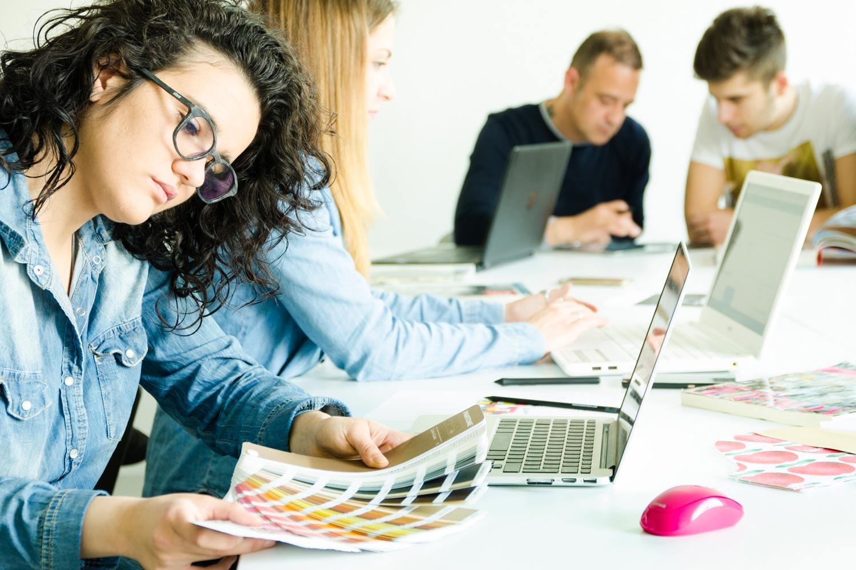 Corso Communication Design studio del colore