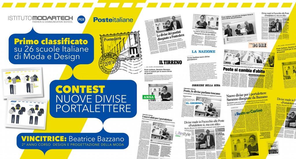 Studentessa Modartech vince il Contest di Poste Italiane