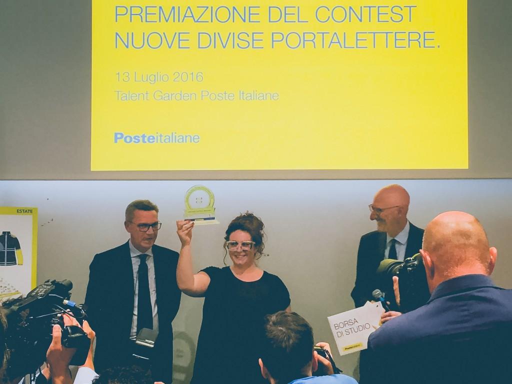 Premiazione del contest Nuove Divise Portalettere