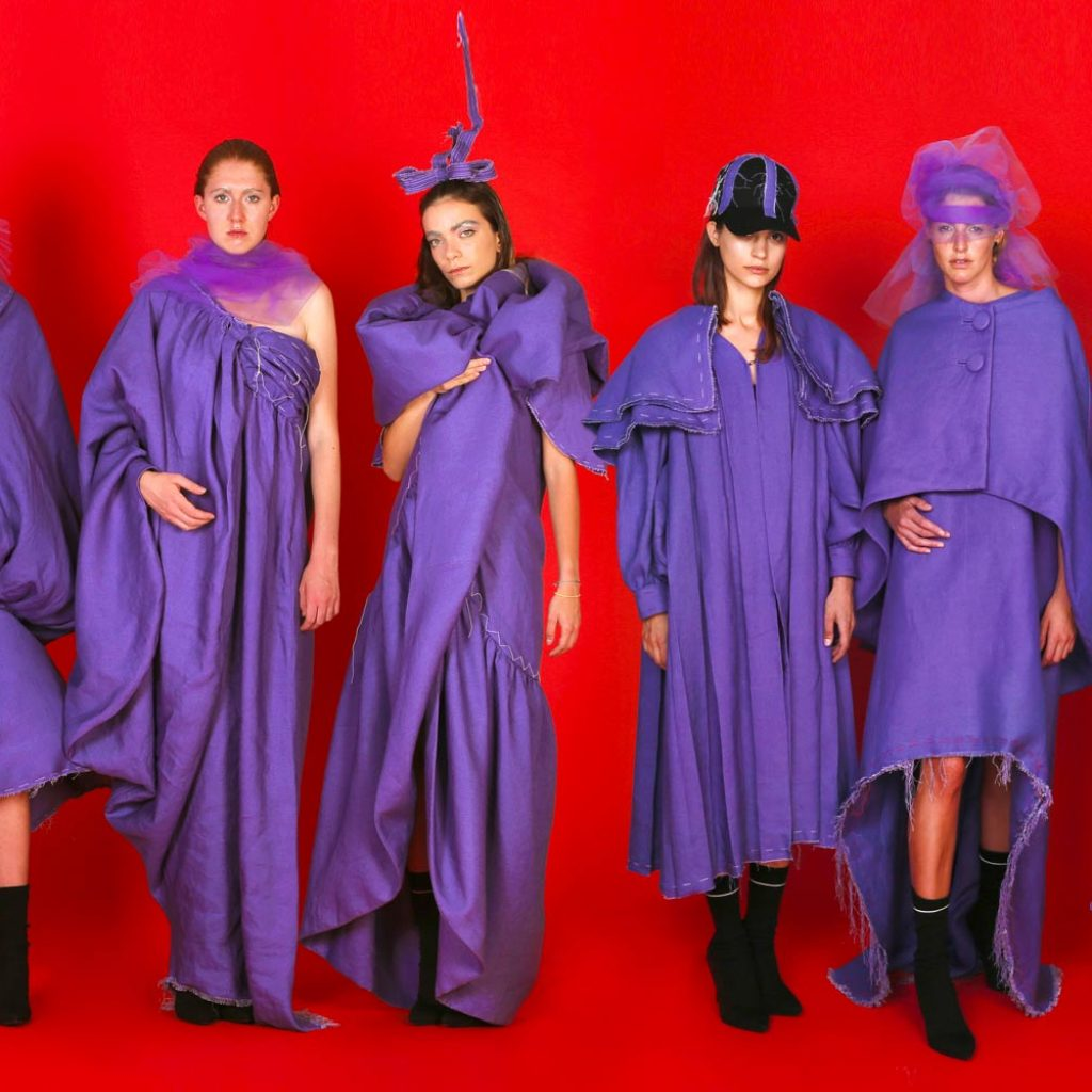Shooting collezione Corso Fashion Technology