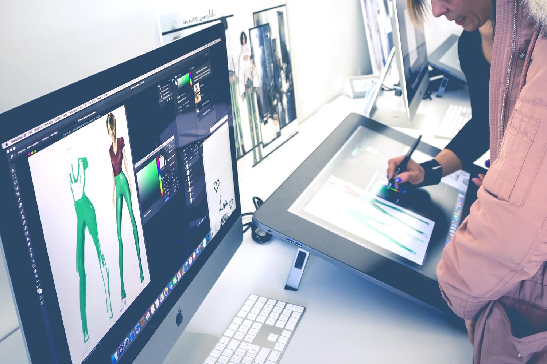 Lezioni di digital illustration con tavolette grafiche wacom