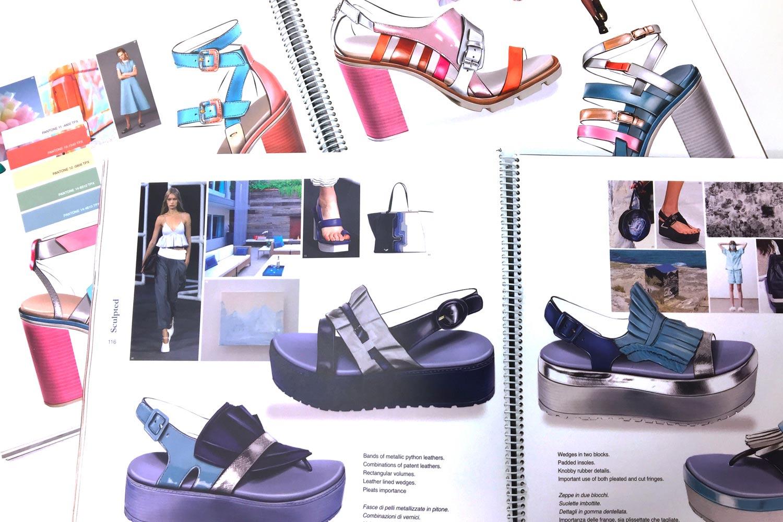 Sviluppo design della calzatura