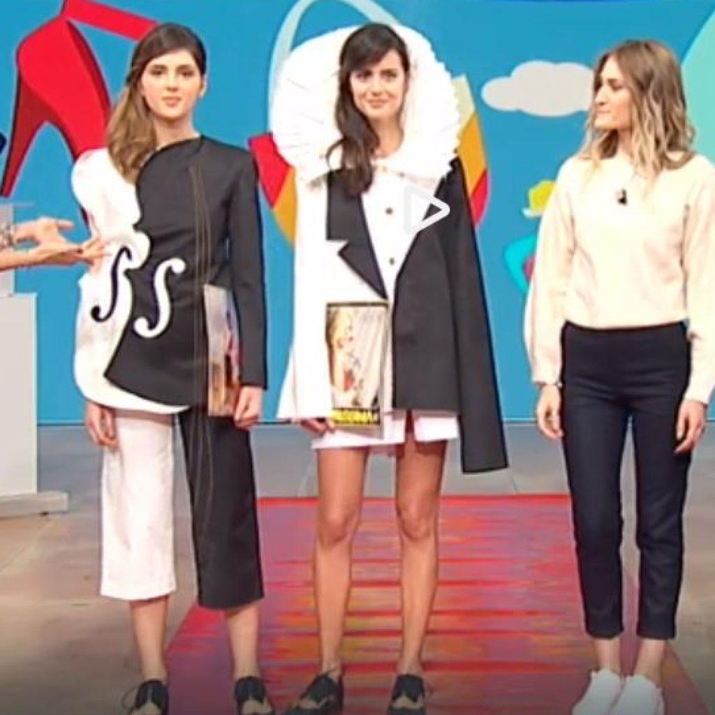 Due studentesse dell' Istituto Modartech sui canali RAI
