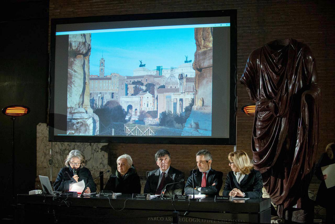 Premiazione concorso Parco Archeologico Roma