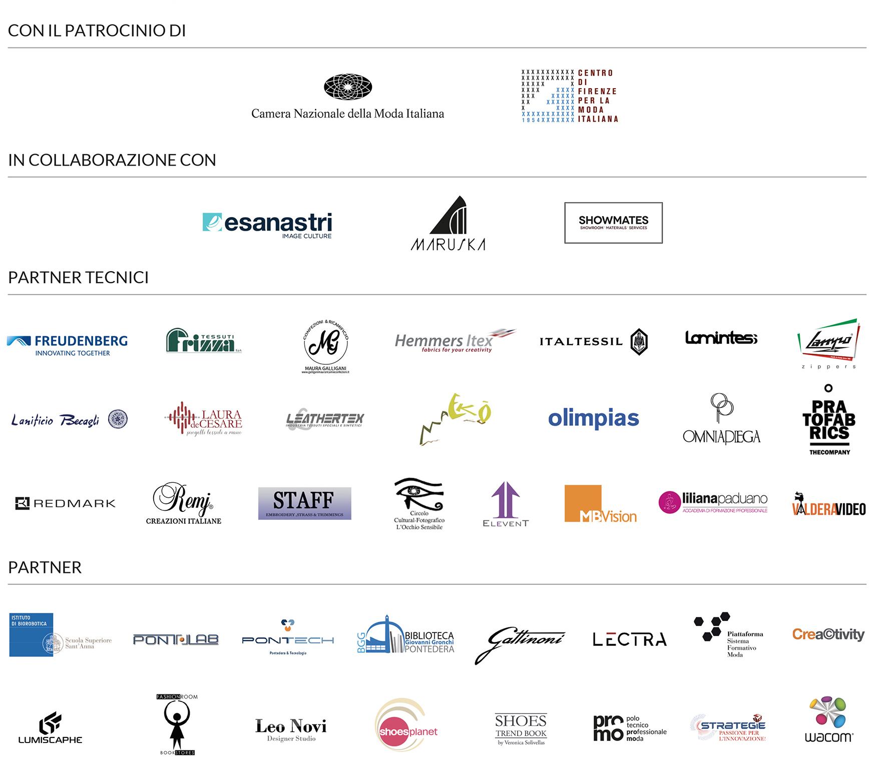 Aziende partner Modartech Fashion Show