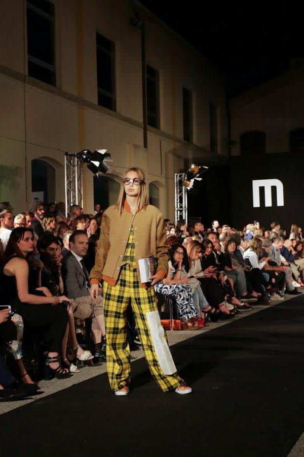Sulla passerella del Modartech Fashion Show Futur Is