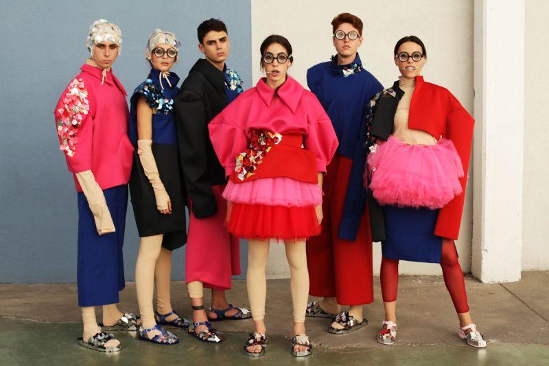 Modartech Fashion Show Futur IS: shooting Modartech Graduate Collection