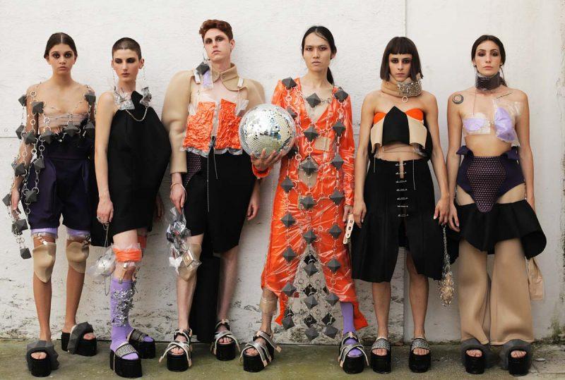 Modartech Graduate collection 2019 al Fashion Show Futur Is