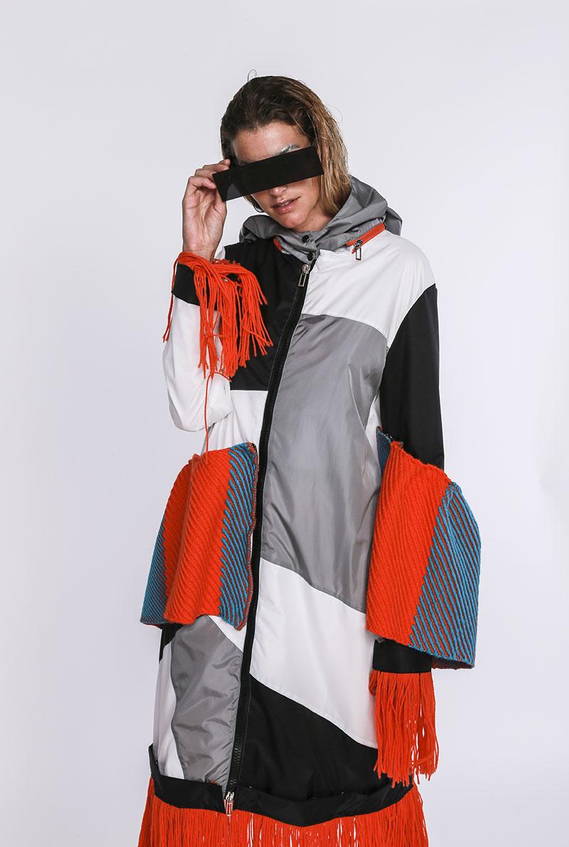 Modella collezione Fashion Show 2018