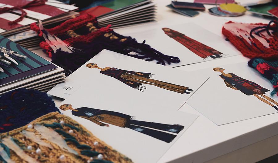 Portfoli studenti area moda Istituto Modartech