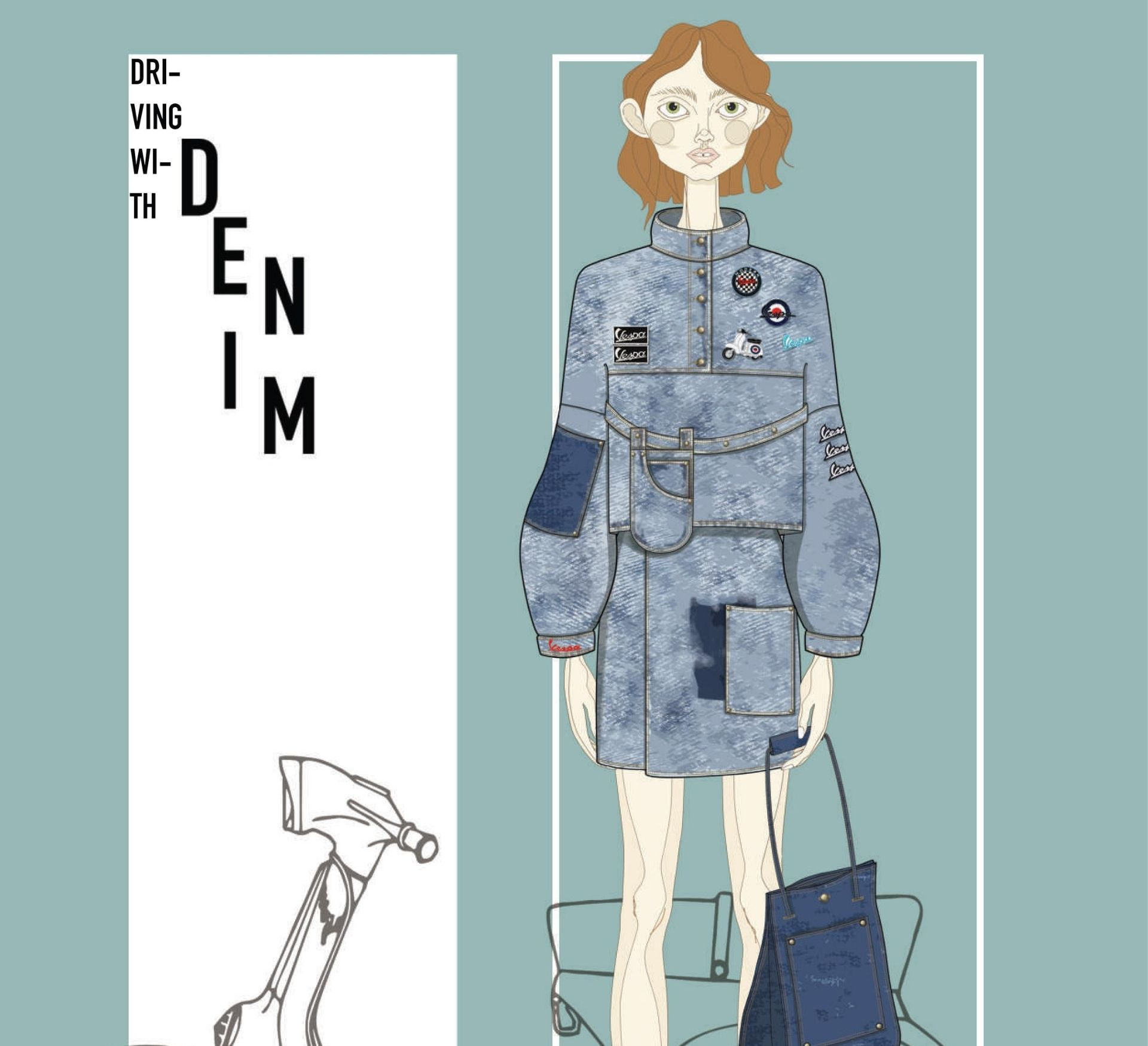 Vespa Denim Project - 18