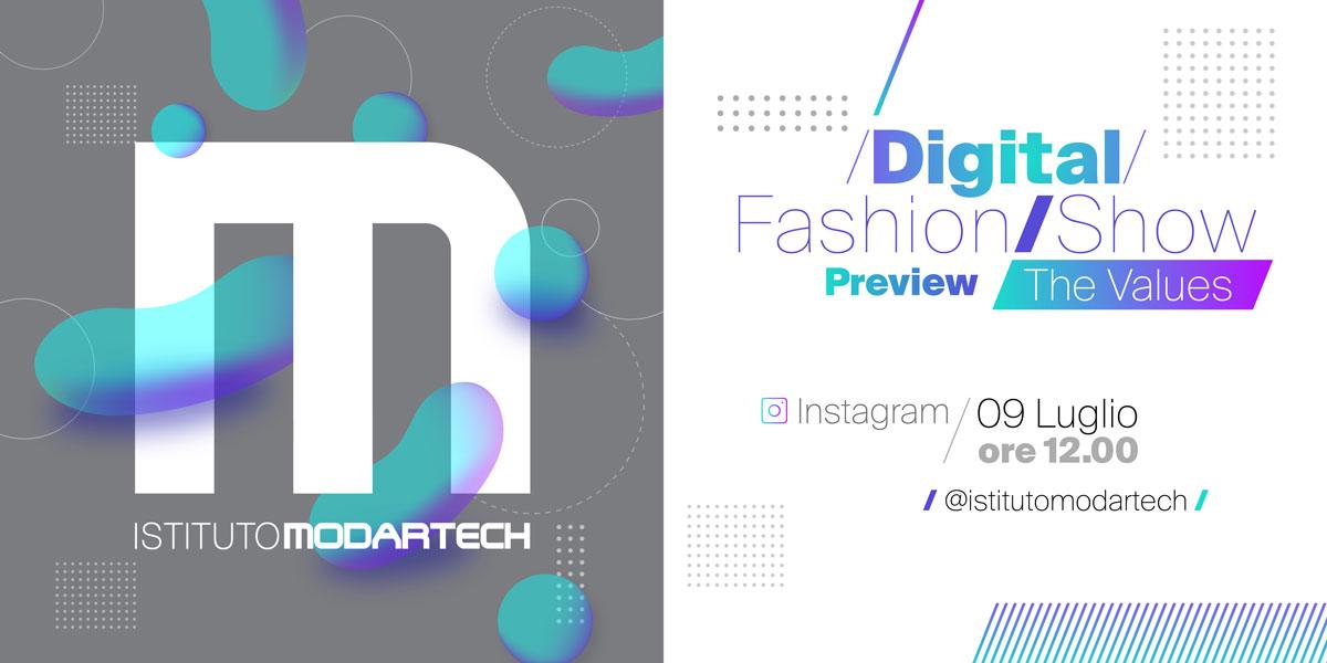Digital Fashion Show The Values Istituto Modartech